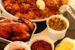 Thumbnail for Beef biriyani sawan with roast chicken & other curries.jpg