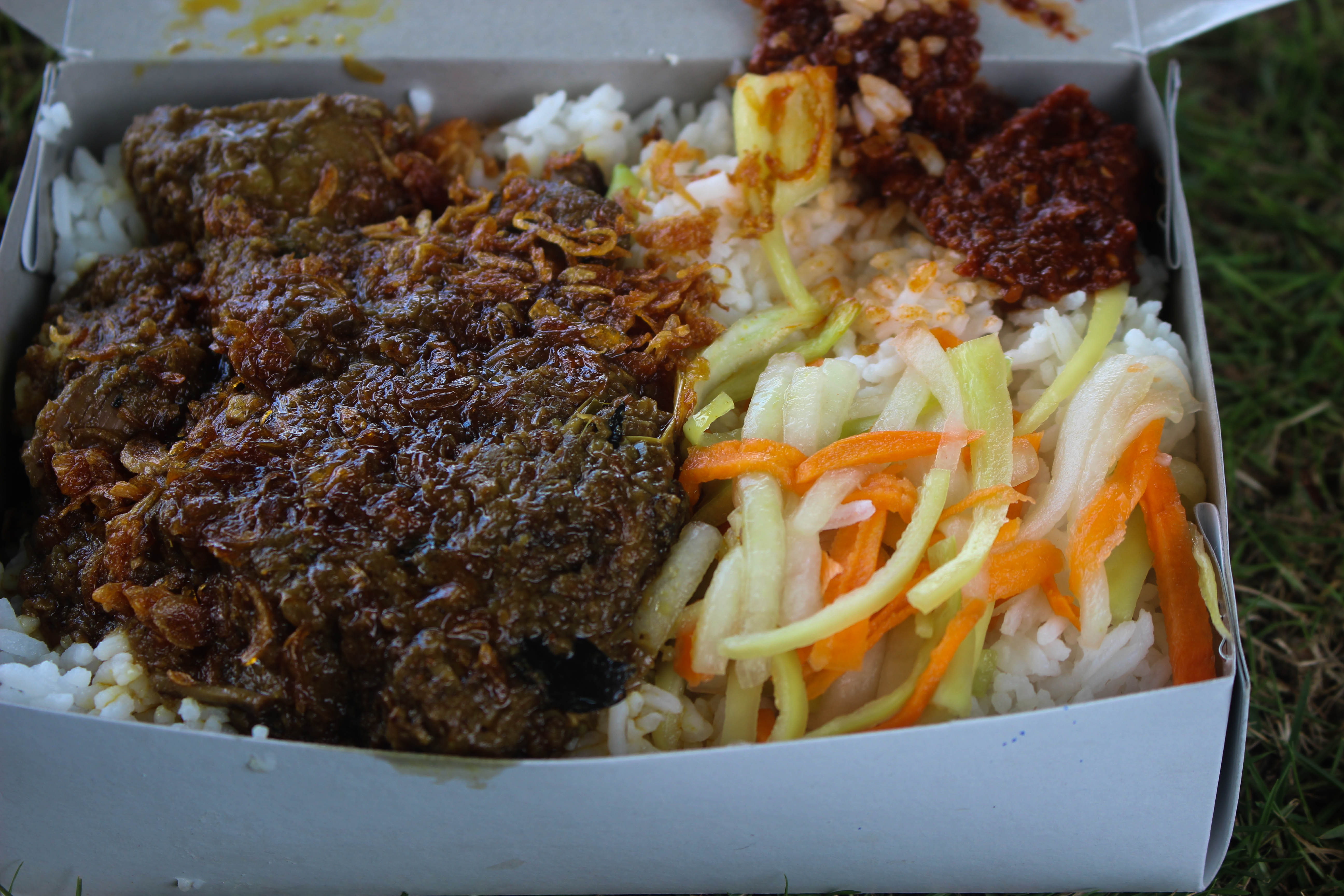 Beef Rendang And Rice