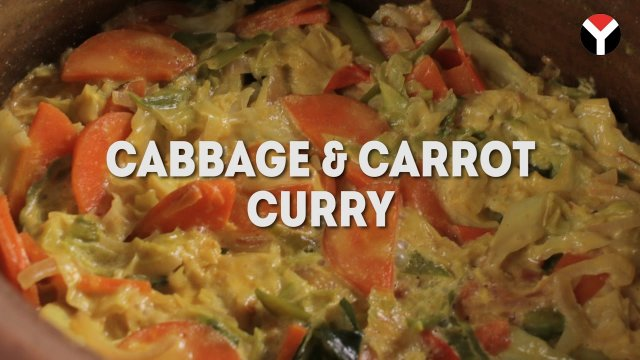 Cabbage and carrot curry yamu for Absolutely delish cuisine