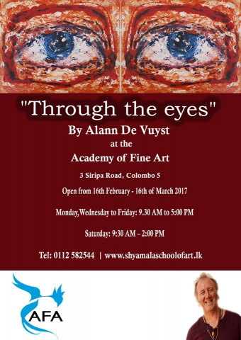 THROUGH THE EYES BY ALANN DE VUYST