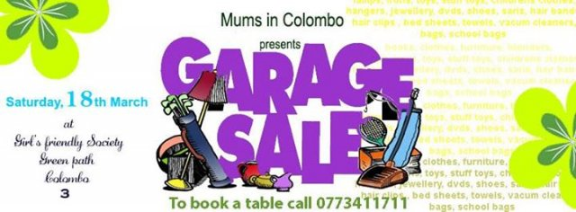 MIC Annual Garage Sale