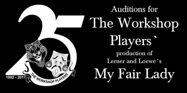 Auditions: The Workshop Players' production of My Fair Lady
