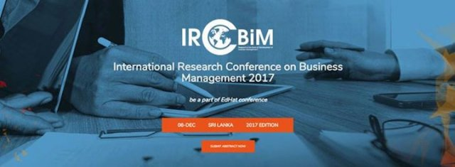 International Research Conference on Business Management 2017