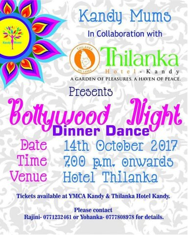 Kandy Mums Bollywood Night Dinner Dance