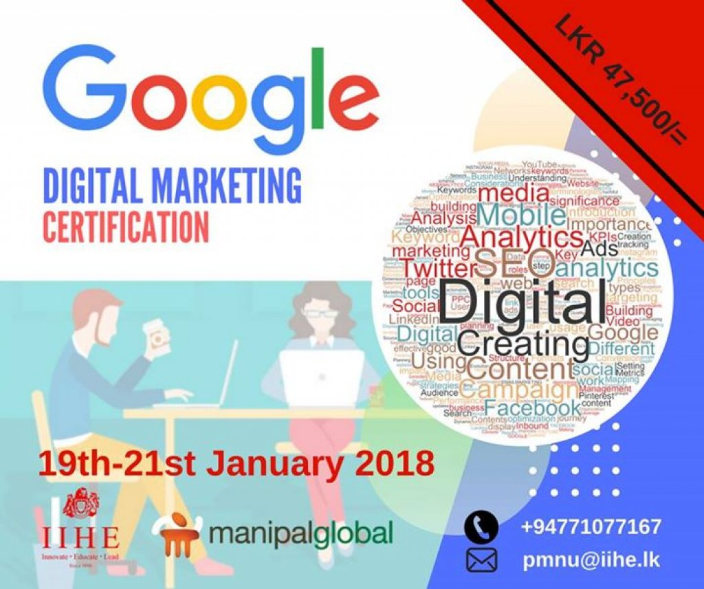 Google Certification On Digital Marketing Yamu