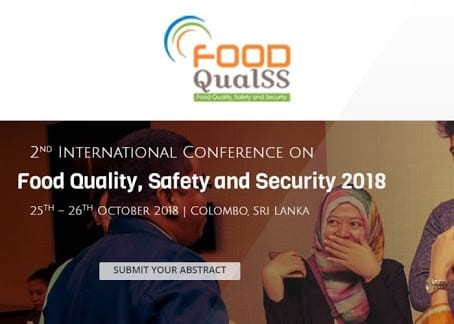 International Conference on Food Quality, Safety and