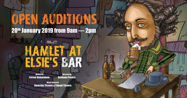 Open Auditions — Hamlet at Elsie's Bar