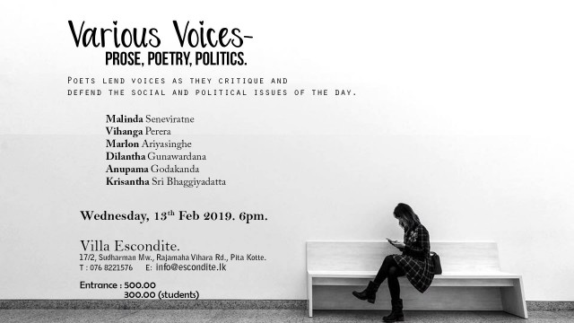 Various Voices - Prose, Poetry, Politics