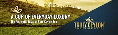 Artwork for Truly Ceylon Top banner 1 - 1 week only