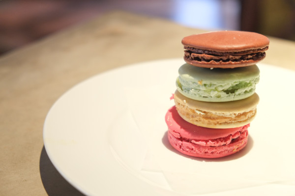 Caked Macarons Side